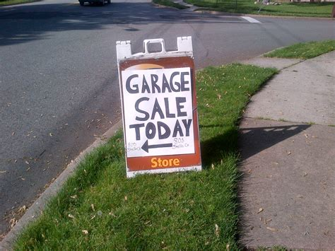 garage sales me today do you a right to resell your own stuff