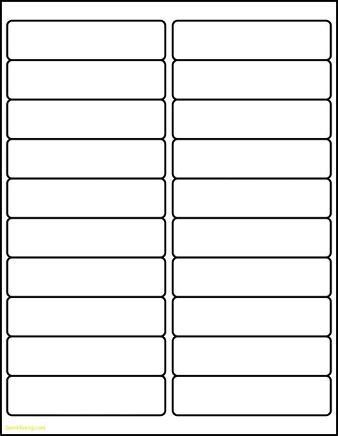Avery Address Label Template Labels Per Sheet Template Excel Avery Xerox Address