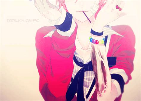 Kawaii Anime Boy 3 By Alyssaholt13 Kawaii Gif Find On Giphy