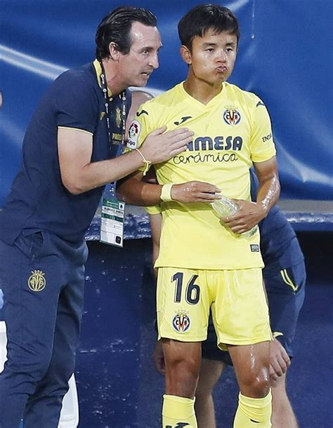 Villarreal coach Emery admits Real Madrid winger Kubo not ...