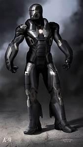 War Machine - Iron Man 3 Concept Art | Mech VS Alien ...