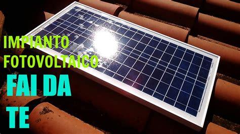 Lade Solari Da Giardino Potenti by Impianto Fotovoltaico Con Pochi