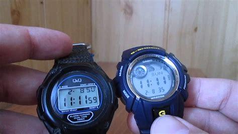 Casio G-Shock + Q&Q - YouTube