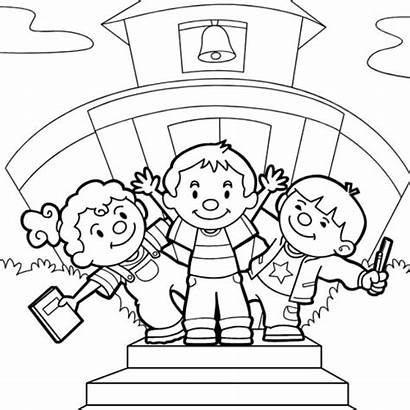 Coloring Hello Children Going Sheets Sources Thesprucecrafts