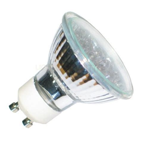 blue gu10 21 led 240 volt spotlight light energy saving bulb