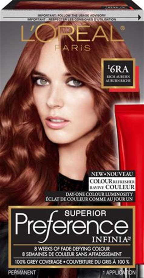 loreal paris superior preference infinia permanent hair