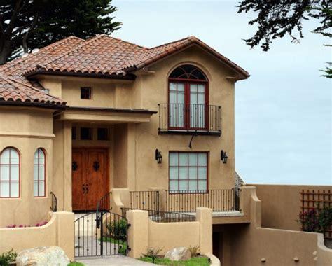 paleta de colores  exteriores  fachadas de casas de