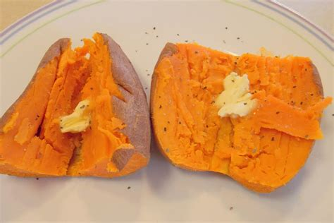 microwaved sweet potato fantastic family recipes microwave sweet potato or yam