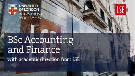accounting  finance university  london