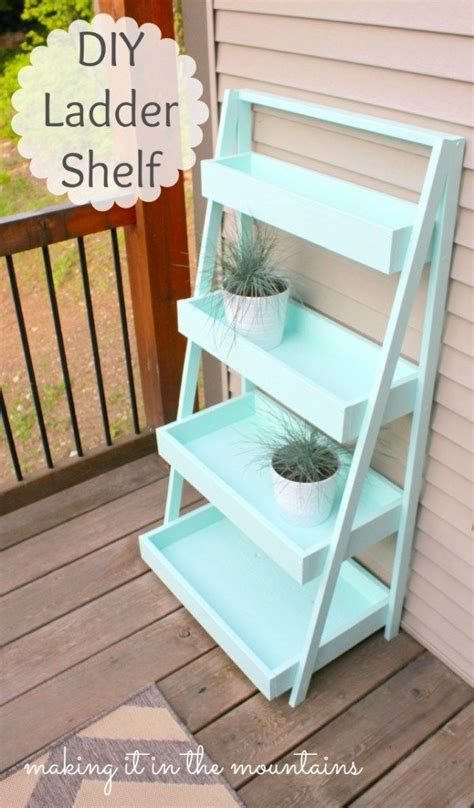 ladder plant stand plans woodworking projects plans