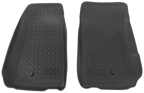 floor mats jeep wrangler unlimited floor mats for 2012 jeep wrangler unlimited husky liners hl30521