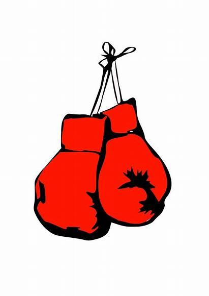 Boxing Glove Clip Clipart Gloves Designs