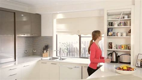 kitchen roller door cabinet appliance cupboard 5578
