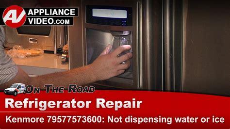 Kitchenaid Refrigerator Water Dispenser Not Working by Kenmore Whirlpool Kitchenaid Refrigerator Not