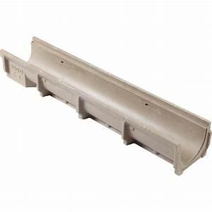 Tube Pvc 200 Brico Depot : caniveau meagard 200 b ton polym re cm l 1 m leroy ~ Dailycaller-alerts.com Idées de Décoration