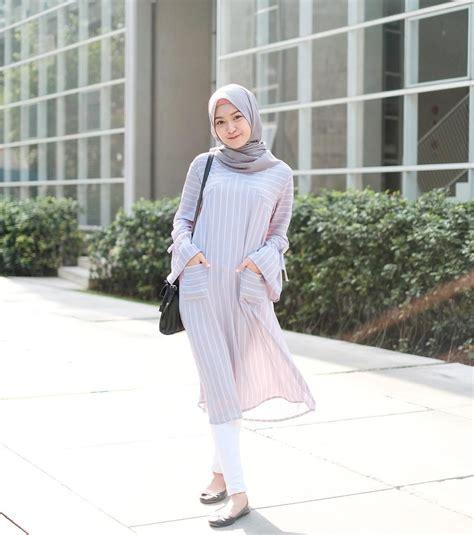 pin oleh thisisme  hijab casual inspiration gaya