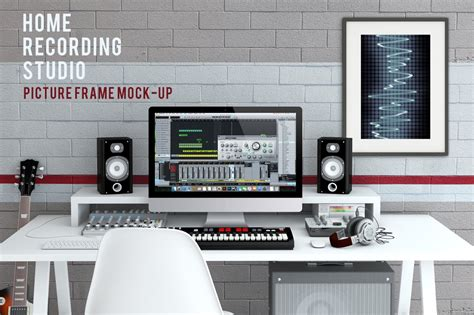 Home Recording Studio Courses by Home Recording Studio Mock Up 2 Mobile Web Mockups