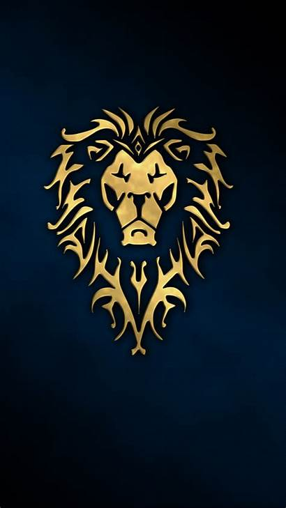 Portrait Simple Lion Animals Display Wallpapers Backgrounds