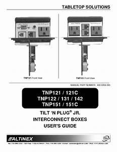 Tilt  N Plug Tnp151 Manuals