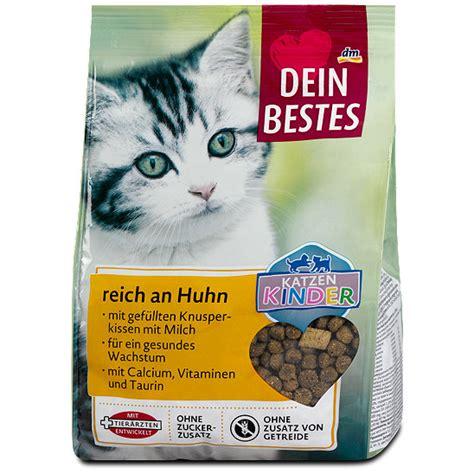 dein bestes katzen kinder katzen trockenfutter reich  huhn