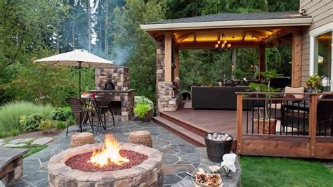 12 Awesome Concepts of How to Upgrade Backyard Patio Ideas