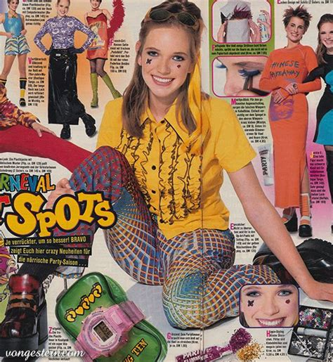 90 er jahre mode 90er jahre mode nineties fashion 1997 mode karneval