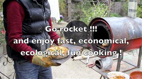 rocket stove oven youtube