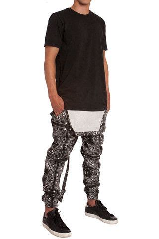 Elwood clothing Paisley Bandana print Overall Joggers | Wear it out - casual | Pinterest ...