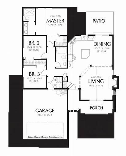 Plans Craftsman Narrow Lot