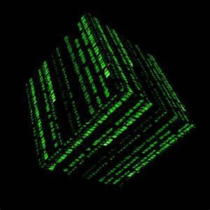Matrix Cube Green by Woken-2010 on DeviantArt