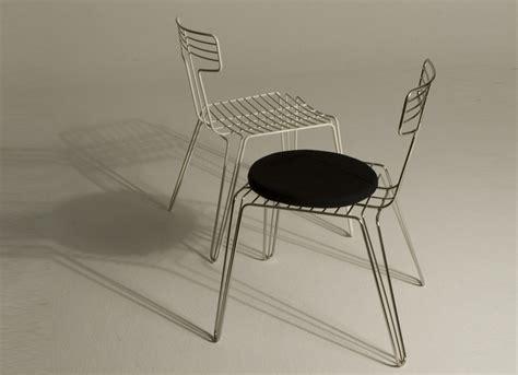 wire dining chair arredo e convivio