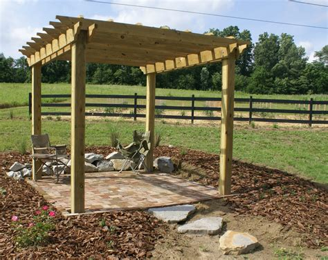 pergola flooring recycle re use and re purpose in style old world garden farms