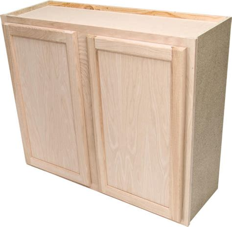 36 inch upper kitchen cabinets quality one 36 quot x 30 quot unfinished oak standard wall cabinet