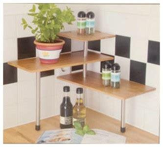 etagere angle cuisine etagere d 39 angle bambou tablette d 39 epices cuisine ou plantes