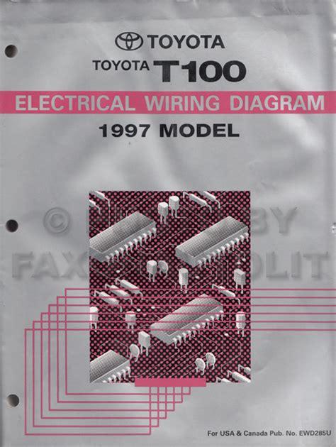 Toyota Truck Wiring Diagram Manual Original