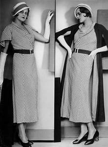 Seeing Stripes this Fall- A 1930s Fashion Inspiration