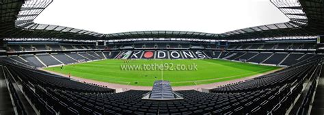 football league ground guide milton keynes dons fc