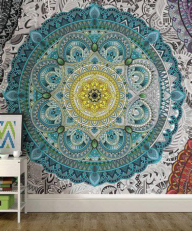 pochoir mural a peindre 25 best ideas about mandala mural on pochoirs