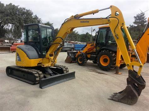 komatsu pc    mini excavators