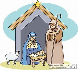 Christmas Nativity Clipart - Clipart Suggest