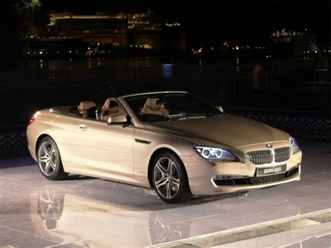 Bmw 6 Series Convertible Launch In India 2011