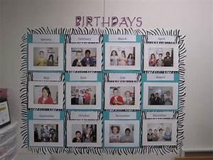 Create Share Inspire: Birthday Bulletin Board