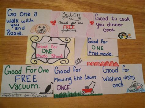 homemade coupon booklet