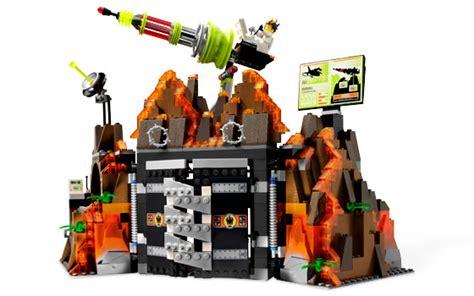 Lego 8637 Volcano Base
