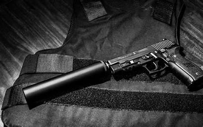 Sig Sauer Silencer P226 Gun Wallpapers Pistol