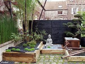 Comment Faire Un Jardin Zen Pas Cher : jardin zen visez la pl nitude elle d coration ~ Carolinahurricanesstore.com Idées de Décoration