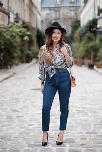 Décontracté Chic : look chic decontracte en jean blog mode hippie chic femme pinterest fedoras and vintage ~ Melissatoandfro.com Idées de Décoration