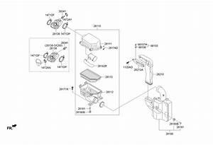 2012 Hyundai Accent Filter