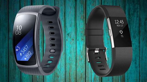 samsung gear fit  fitbit charge   fitness tracker
