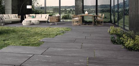 Piastrelle Per Terrazzi Esterni by Pavimenti Per Esterni In Gres Per Giardini Terrazzi E